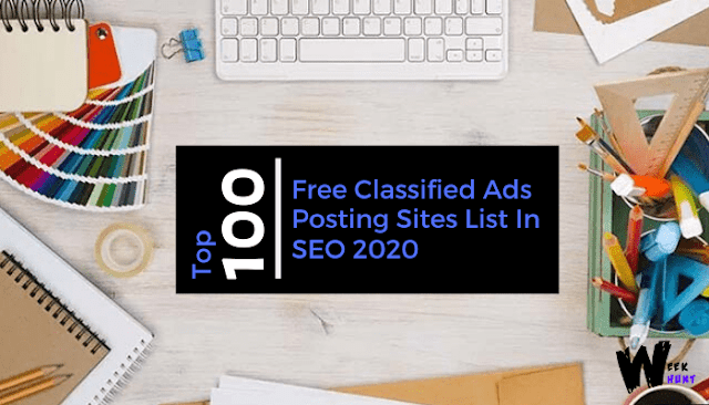 Top 100 Free Classified Ads Posting Sites List In SEO