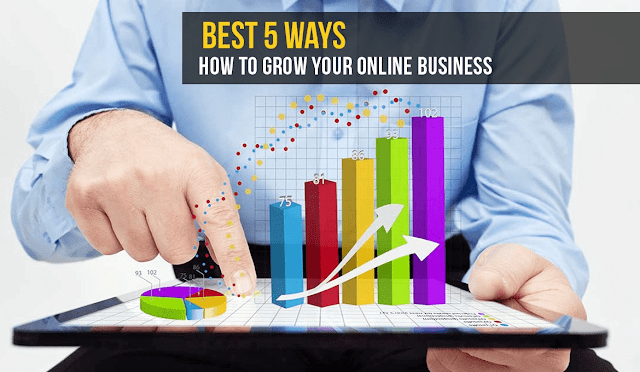 5 Tips to Grow Your Business Online without A Lot of Money