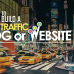 how to build blog website traffic
