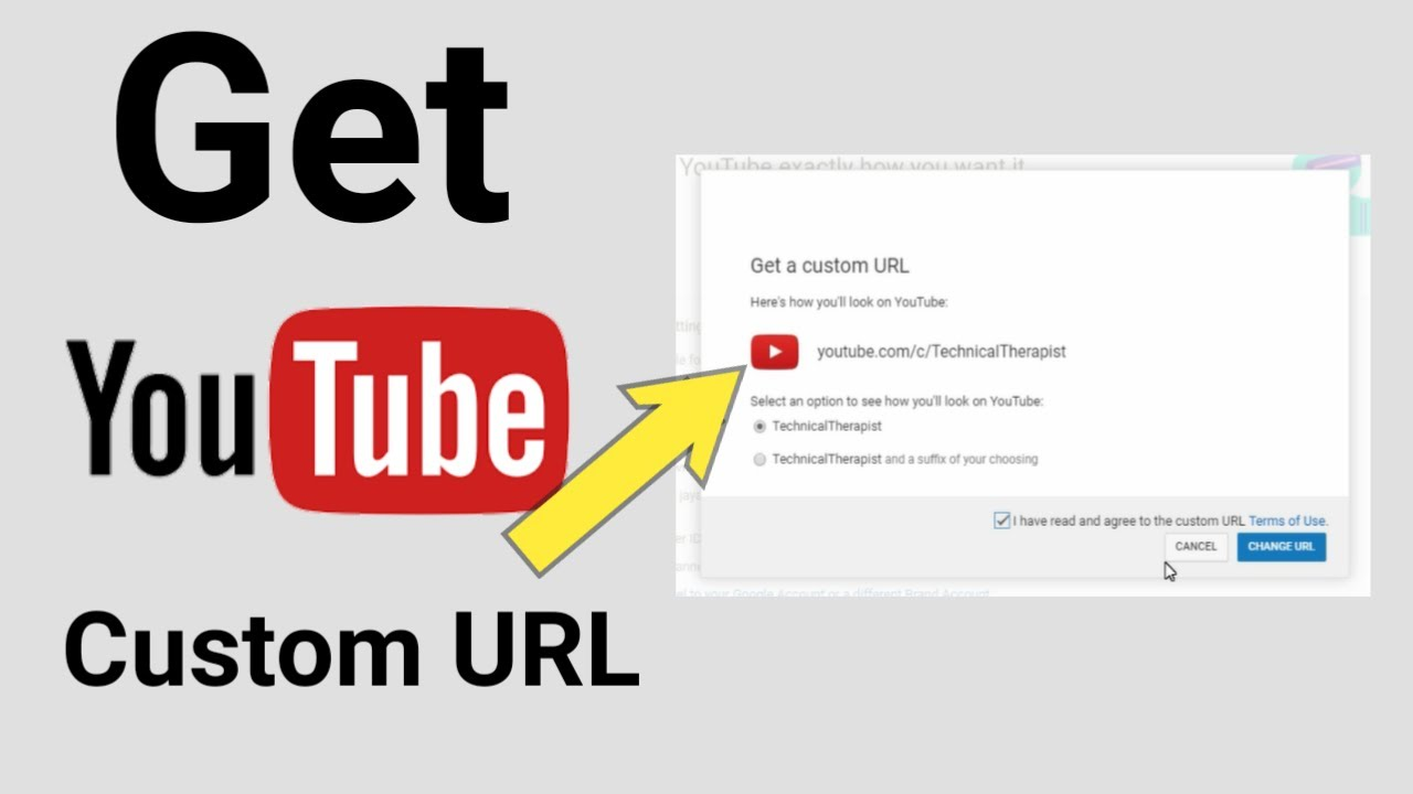 How to Change Your YouTube URL In 2021